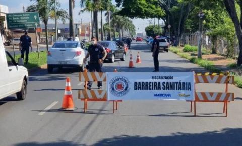 Região terá barreiras sanitárias e vai reforçar fiscalização de festas clandestinas no feriado