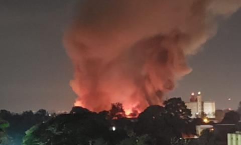 Incêndio atinge Pague Menos de Paulínia