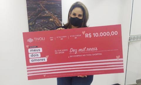Moradora de Americana ganha vale-compras de R$ 10 mildo Tivoli Shopping