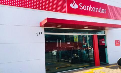 Covid-19: Agência do Santander da Av. Nossa Sra de Fátima está fechada