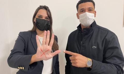 Nathália Camargo e Juninho Dias propõem criação do Código Sinal Vermelho
