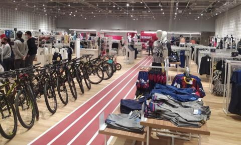 Loja Centauro inaugura hoje no Tivoli Shopping