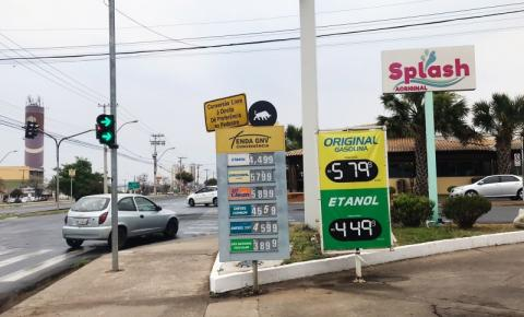 Postos da região aproveitam bloqueios para aumentar o preço do combustível