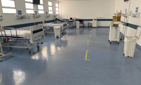 Com melhora no cenário da pandemia, Hospital Municipal reduz leitos de Covid