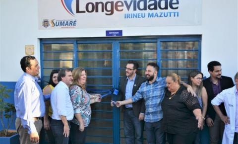 Prefeito Luiz Dalben entrega Centro de Longevidade à Melhor Idade de Sumaré
