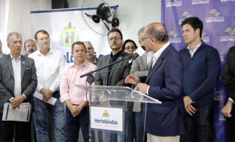 Governador e prefeito Luiz Dalben lançam obras da UBS Ipiranga