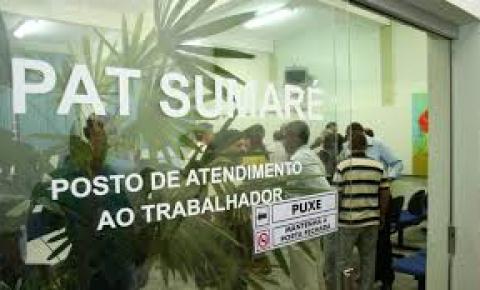 PAT Sumaré informa novas vagas de emprego