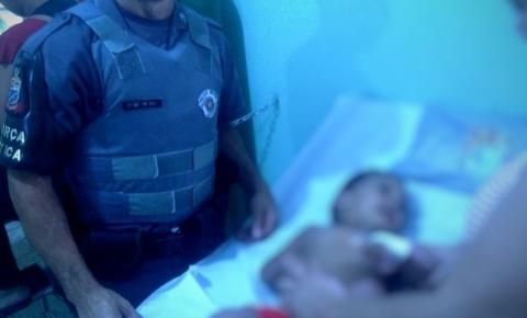 PMs salvam criança engasgada em Sumaré