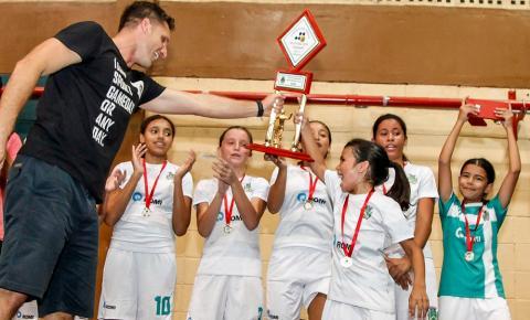 Torneio de Férias: Gol de Placa Santa Rita e Seme B conquistam Masculino sub-12 e Feminino sub-13