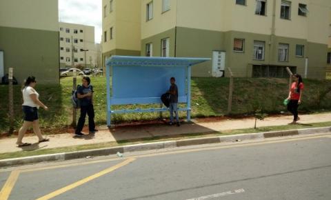 Prefeitura de Sumaré instala novos pontos de ônibus na cidade
