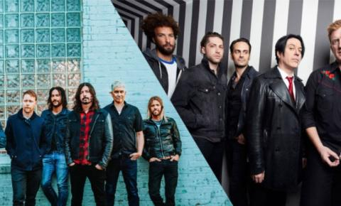 Foo Fighters e Queens of the Stone Age começam turnê pelo País