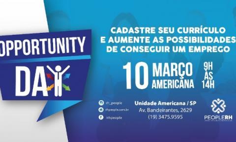 People RH promove Opportunity Day em Americana