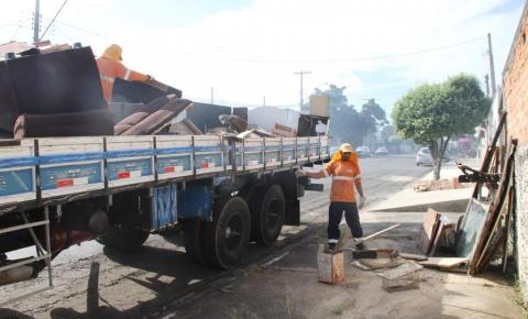 Prefeitura conclui mutirão de limpeza e zeladoria em mais 16 bairros