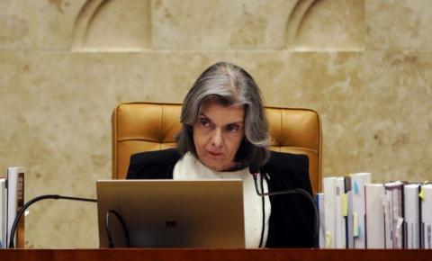 Cármen Lúcia afirma que cansaço levou à suspensão de julgamento