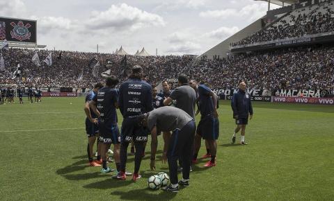 Corinthians confirma treino aberto à torcida na véspera da final
