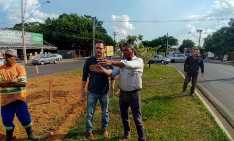 Prefeito Luiz Dalben anuncia revitalização da Avenida da Amizade, em Sumaré