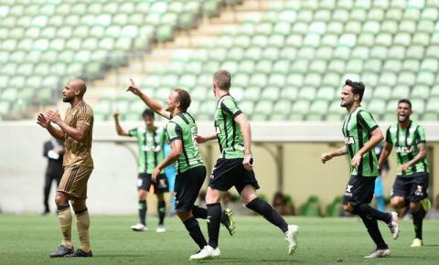 América-MG faz gol relâmpago e atropela o Sport na estreia do Brasileirão