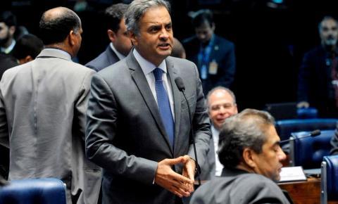 Aécio vira réu no STF por corrupção passiva e obstrução de justiça