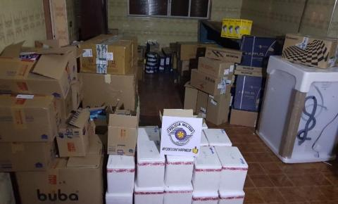 Polícia encontra cativeiro e esconderijo de cargas roubadas em Nova Odessa