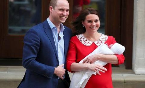 Kate Middleton e William anunciam nome do terceiro filho