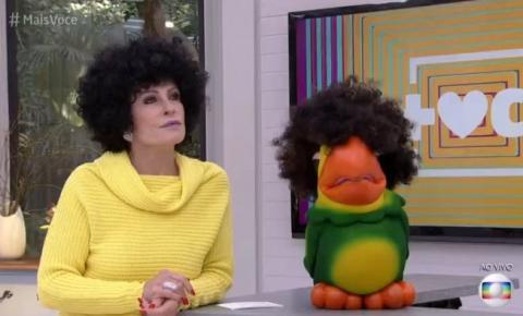 Ana Maria Braga é criticada por usar peruca crespa no 'Mais Você'