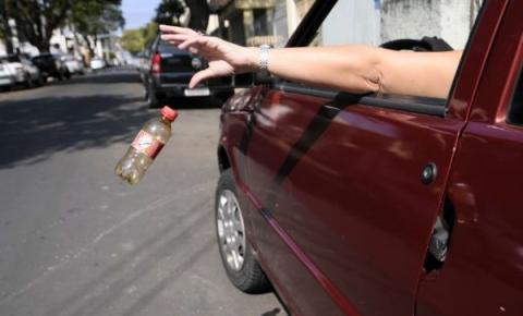 Cidadão que jogar lixo nas ruas de Sumaré poderá ser multado em R$ 400