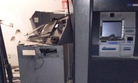 Bandidos explodem novamente caixas eletrônicos em Santa Bárbara