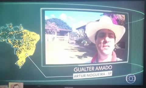 Vereador se posiciona sobre vídeo exibido na Rede Globo