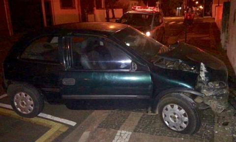 Homem agride idoso, bate carro e acaba preso em S. Bárbara