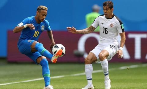 Coutinho e Neymar marcam no fim, Brasil bate Costa Rica e vence partida