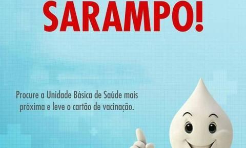 Campanha vacina adultos contra sarampo em Americana