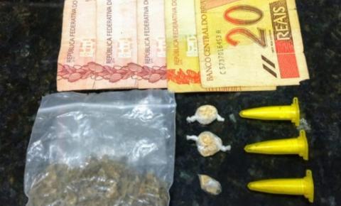 Homens são detidos com drogas no bairro Vila Sartori