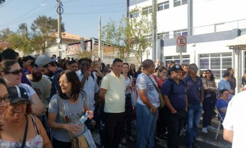 Funcionários públicos de Hortolândia entram em greve