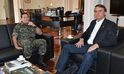 PRTB anuncia general Mourão como vice de Bolsonaro