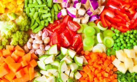 Tipos de cortes de vegetais