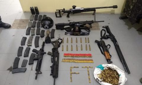 Polícia de SP acha arsenal enterrado em área de Hortolândia
