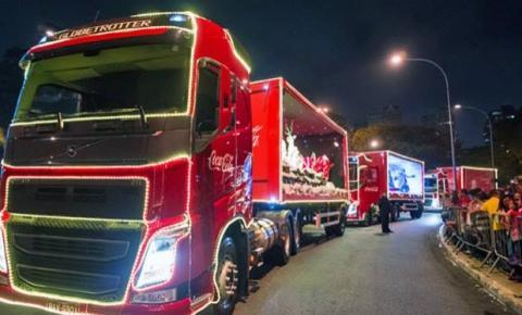 Caravana Iluminada de Natal da Coca Cola em Sumaré