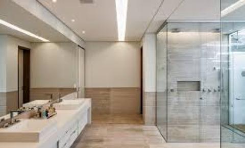 Banheiros e lavabos – Cores claras, de preferência