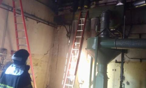 Fábrica Ober tem princípio de incêndio em Nova Odessa