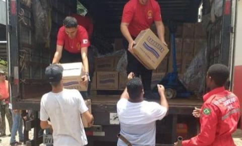 Barbarex doa 8 toneladas de produtos de limpeza para Brumadinho