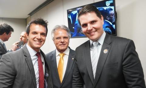 Único deputado federal eleito na região, Macris assume 4º mandato na Câmara dos Deputados
