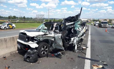 Homem morre em acidente de carro em pista de Sumaré