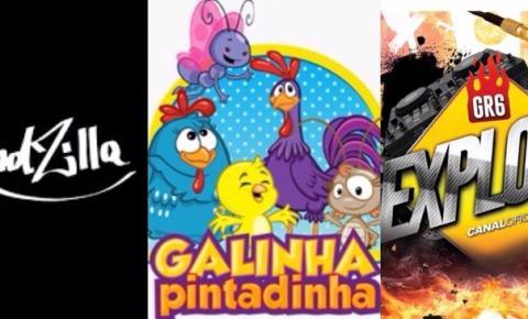 KondZilla, Galinha Pintadinha e GR6 Explode são os canais brasileiros no Youtube mais visto da história.