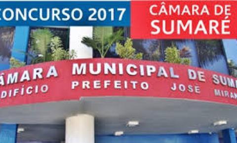 Câmara de Sumaré abre inscrições para concurso público