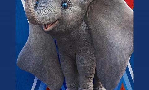 Clássico infantil Dumbo chega ao Moviecom do Tivoli Shopping em Santa Bárbara