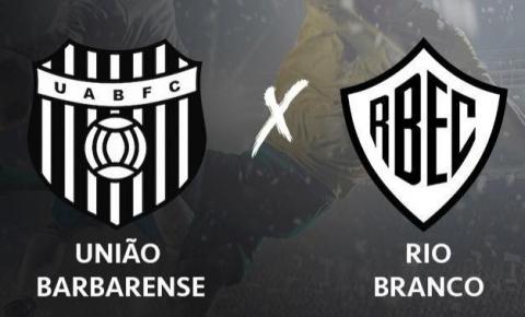 Rio Branco vence União Barbarense por 4X1