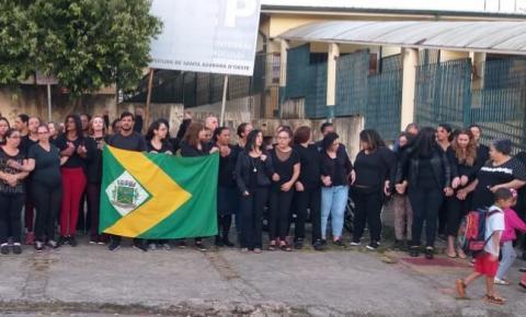 Ato repudia agressão de mãe de aluno contra professor em S. Bárbara