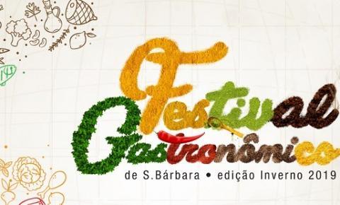 Festival Gastronômico de Santa Bárbara edição de inverno divulga 15 estabelecimentos selecionados.