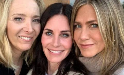 Atrizes de 'Friends' se reencontram e fãs se empolgam