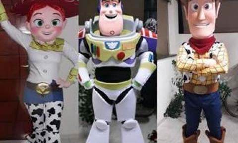 Tivoli recebe personagens do filme Toy Story no feriado